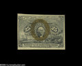 Fractional Currency:Second Issue, Fr. 1286 Milton 2R25.3d 25¢ Second Issue Choice New. The margins are skewed and very variable in size, with the back off cen...