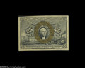 Fractional Currency:Second Issue, Fr. 1286a Milton 2R25.3e 25¢ Second Issue Choice New. These Slate Back 25¢ notes are notoriously poorly margined. This one h...