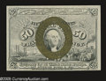 Fractional Currency:Second Issue, Fr. 1322 Milton 2R50.9 50¢ Second Issue Choice New. A Superb example when viewed from the back, but the face margins are a l...