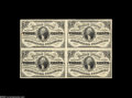 Fractional Currency:Third Issue, Fr. 1227 Milton 3R3.2 3¢ Third Issue Block of Four Choice About New. The block itself is About New due to a light fold betwe...
