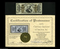 Fractional Currency:Third Issue, Fr. 1336 Milton 3R50.20a 50¢ Third Issue Spinner Very Choice New.This is the second time we've handled this note. The first...