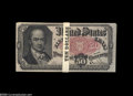 Fractional Currency:Fifth Issue, Fr. 1381 3R50.1 50¢ Fifth Issue Original Pack of Twenty Gem New. Apristine as-issued pack that is clearly original. All the...
