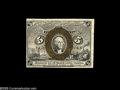 Fractional Currency:Inverts, Fr. 1232 Milton 2R5.1e 5¢ Second Issue Inverted Back SurchargeChoice About New. Three examples of this invert are known. At...