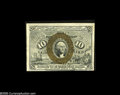 Fractional Currency:Inverts, Fr. 1246 Milton 2R10.3c 10¢ Second Issue Inverted Back SurchargeChoice New. A lovely high grade example of this less rare i...