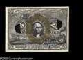 Fractional Currency:Inverts, Fr. 1286 Milton 2E25F.6f 25¢ Second Issue Experimental InvertChoice New. This is the very scarce variety with the inverted ...