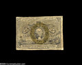 Fractional Currency:Inverts, Fr. 1286 Milton 2R25.3f 25¢ Second Issue Inverted Back SurchargeGood. A rather low-grade example of this rare invert. Only ...