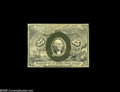 "Fractional Currency:Inverts, Fr. 1286 Milton 2R25.3g 25¢ Second Issue Inverted ""S"" Choice AboutNew. Much more rare as a regular issue note than as an ex..."