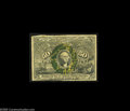 Fractional Currency:Inverts, Fr. 1317 Milton 2E50.3e 50¢ Second Issue Inverted Back SurchargeVery Good. Unique when the Encyclopedia was printed, and to...