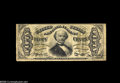 Fractional Currency:Inverts, Fr. 1331 Milton 3R50.19l 50¢ Third Issue Spinner Inverted BackSurcharge Fine. Perfect for the grade but for a tiny split on...