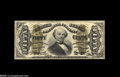 Fractional Currency:Inverts, Fr. 1332 Milton 3R50.19m 50¢ Third Issue Spinner Inverted BackSurcharge Extremely Fine. Only three examples of this Invert ...