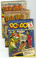 Golden Age (1938-1955):Funny Animal, Do-Do Group (Nationwide Publications, 1950-51) Condition: AverageGD/VG.... (Total: 4 Comic Books)