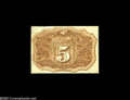 Fractional Currency:Narrow Margin Specimens, Fr. 1232 Milton 2S25R.1 5¢ Second Issue Narrow Margin Back Choice New. Nice, bright color and just a few wrinkles away from ...