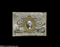 Fractional Currency:Narrow Margin Specimens, Fr. 1283SP 25¢ Second Issue Narrow Margin Pair Choice New. Milton 2S25F.1 and 2S25R.1f. Both removed from shields and very w... (2 items)