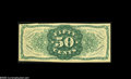 Fractional Currency:Third Issue, Fr.1339SP Milton 3S50R.3 50¢ Third Issue Spinner Type II Narrow Margin Back About New. When the Milton Encyclopedia was writ...