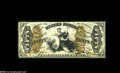 Fractional Currency:Narrow Margin Specimens, Fr. 1357aSP Milton 3S50F.2 50¢ Third Issue Justice Narrow Margin Face Choice New. A lovely example of the signature combinat...