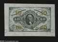 Fractional Currency:Wide Margin Specimens , Fr. 1253SP 10¢ Third Issue Wide Margin Pair Superb Gem New. Milton 3P10F.1, 3P10R.1a. A gorgeous pair, with both the face an... (2 items)