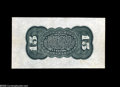 Fractional Currency:Wide Margin Specimens , Fr. 1272SP 15¢ Third Issue Wide Margin Back Gem New. Milton 3P15R.2. An exceptionally wide piece with all its bold, original...