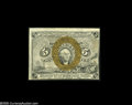 Fractional Currency:Presentation Book , Fr. 1232 Milton 2R5.1i 5¢ Second Issue Treasury Rectangle ChoiceNew. Treasury Rectangles have been an important item in Fra...