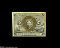 Fractional Currency:Presentation Book , Fr. 1232 Milton 2R5.1f 5¢ Second Issue Treasury Rectangle Gem New.Incredible grade for a Treasury Rectangle note. The right...