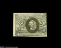 Fractional Currency:Presentation Book , Fr. 1244 Milton 2R10.1h 10¢ Second Issue Treasury Rectangle ChoiceNew. Just a small part of the bottom of the box appears a...