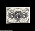 Fractional Currency:Experimentals, Proofs and Essays, Milton 1E5F.3b 5¢ First Issue Essay Gem New. This strikinglybeautiful note is printed in black ink on pure white paper. It ...