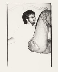 Andy Warhol (American, 1928-1987) Steven Spielberg, 1982 Gelatin silver 8-1/2 x 6 inches (21.6 x 15.2 cm) With photo