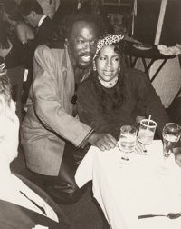Andy Warhol (American, 1928-1987) Nick Ashford and Valerie Simpson, 1986 Gelatin silver 10 x 8 inches (25.4 x 20.3 cm