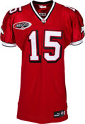 Football Collectibles:Uniforms, 2000 Dave Dickenson Game Worn Calgary Stampeders Jersey....