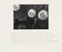 Duane Michals (American, b. 1932) Many Moons, 1989 Gelatin silver 7 x 9-1/4 inches (17.8 x 23.5 c