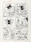 Original Comic Art:Panel Pages, Marie Severin and Jacqueline Roettcher Muppet Babies #25Partial Story Group of 4 Original Art (Marvel, 1989).... (Total: 4Original Art)