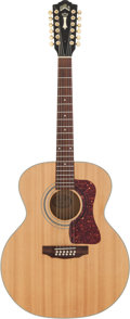 Musical Instruments:Acoustic Guitars, 1987 Guild JF30-12 B1 Natural 12 String Acoustic Guitar, Serial # AJ321059....