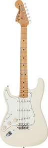 Musical Instruments:Electric Guitars, 1997 Fender Jimi Hendrix Tribute Stratocaster Olympic White Solid Body Electric Guitar, Serial # TN700881....