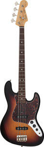 Musical Instruments:Bass Guitars, 1997 Fender Noel Redding Signature Jazz Bass Sunburst Electric Bass Guitar, Serial # 0166 and ALS.... (Total: 2 )