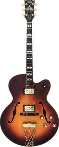 Musical Instruments:Electric Guitars, Tommy Tedesco's Yamaha AE2000 Archtop Electric Guitar, Serial # 001304....