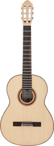 Musical Instruments:Acoustic Guitars, Tommy Tedesco's 1991 Greg S. Brandt Classical Guitar, Serial # 58....