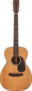 Musical Instruments:Acoustic Guitars, Tommy Tedesco's 1961 Martin 0-18 Natural Acoustic Guitar, Serial # 177242....