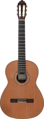 Tommy Tedesco's 1985 Greg S. Brandt M65 Natural Classical Guitar, Serial # 33