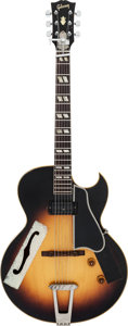 Musical Instruments:Electric Guitars, Tommy Tedesco's 1956 Gibson ES-175 Sunburst Archtop Electric Guitar, Serial # A22770.. ...