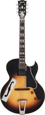 Tommy Tedesco's 1956 Gibson ES-175 Sunburst Archtop Electric Guitar, Serial # A22770