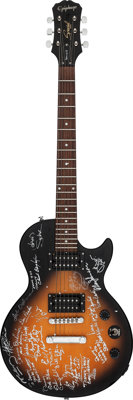 Wrecking Crew Signed Epiphone Special II Solid Body Electric Guitar, Serial # SI 08020841