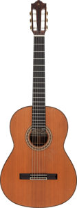 Musical Instruments:Acoustic Guitars, Tommy Tedesco's 1977 Yamaha GC-30A Natural Classical Guitar, Serial # D273....