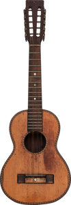 Musical Instruments:Banjos, Mandolins, & Ukes, Tommy Tedesco's Circa 1920's Natural Tiple....