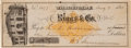 Autographs:Checks, 1881 General William T. Sherman Signed Check, PSA/DNA NM-MT 8....