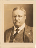 Baseball Collectibles:Others, 1908 President Theodore Roosevelt Typed Signed Letter on White House Letterhead....