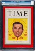 Golf Collectibles:Books/Magazines, 1949 Ben Hogan TIME Magazine CGC 9.8 - Highest Graded. ...