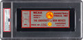 """Basketball Collectibles:Others, 1983 NCAA Finals Ticket Stub - From Jimmy V's North Carolina State """"Miracle"""" Championship! ..."""