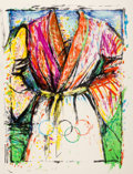 Prints & Multiples, Jim Dine (b. 1935). Olympic Robe, from Official Arts Portfolio of the XXIVth Olympiad, Seoul, Korea, 1988. Lithograp...