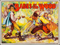 """Movie Posters:Miscellaneous, Pantomime Theatre--Babes in the Wood (Taylors Printers, Wombwell,1930). British Quad (30"""" X 40""""). Miscellaneous.. ..."""