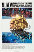 "Movie Posters:Science Fiction, Conquest of the Planet of the Apes (20th Century Fox, 1972). OneSheet (27"" X 41""). Science Fiction.. ..."