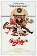 "Movie Posters:Comedy, A Christmas Story (MGM, 1983). One Sheet (27"" X 41""). Artwork byRobert Tanenbaum. Comedy.. ..."